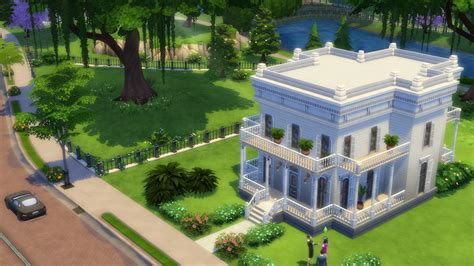 Chateau Style House Plans by Why Sims 4 Doesn T Have Bad Graphics Thesims