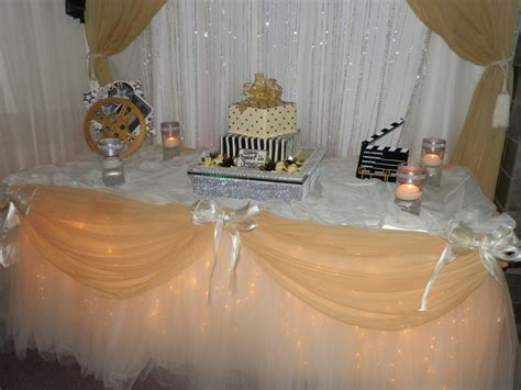 decor by sbd events sweet 16 cake table them