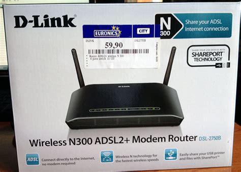 Adsl2 Modem Lan Usb Router D Link Dsl 526b ri sped d link dsl 2750b modem router adsl2 wireless n con 4 porte lan usb hardware