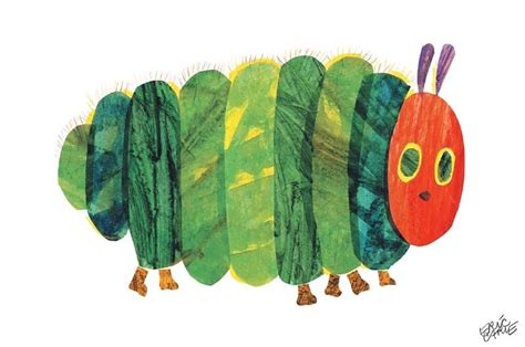 the very hungry caterpillar fat canvas wall art