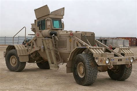 husky vehicle mounted mine detection system