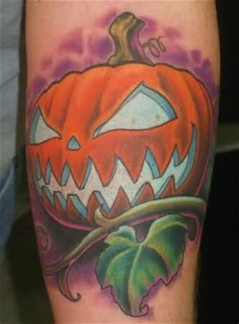 halloween pumpkin tattoo designs tattoos and designs