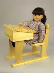 19 w3495 doll school desk woodworking plan