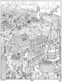 coloring posters for adults doodle seascape coloring page poster b coloring pages