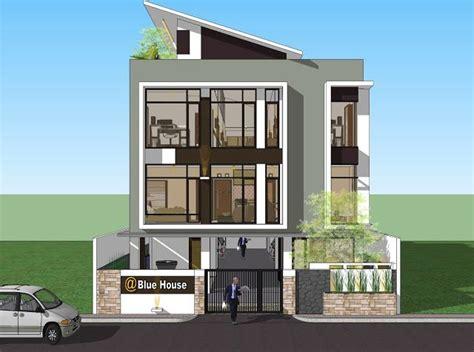 Rumah Kos Kosan 4 Pintu rumah kos exclusive desain rumah minimalis model rumah