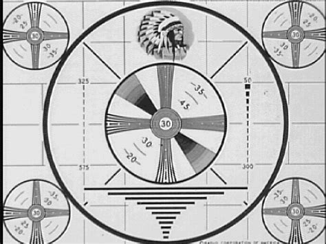 test pattern history background of the research and sources of tv themes