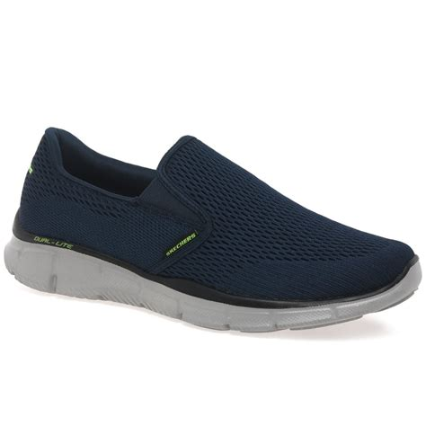 skechers mens slip on sports shoes charles clinkard