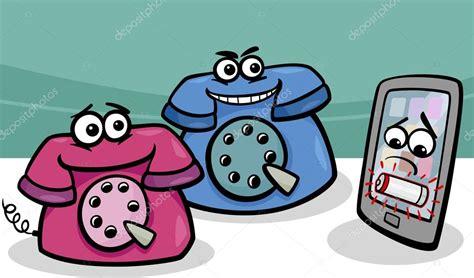 imagenes retro dibujos animados dibujos animados de tel 233 fonos smartphone con retro