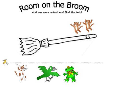 room on the broom pdf numicon matching activity by cinziana teaching resources tes