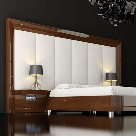 Modern Headboards Ideas by Macral Design Hotel Decor Ideas