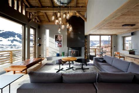 contemporary chalet cyanella mountain cabin in alps