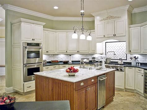 Kitchen Colors With Off White Cabinets Dark Brown Wooden Kitchen Colors White Cabinets