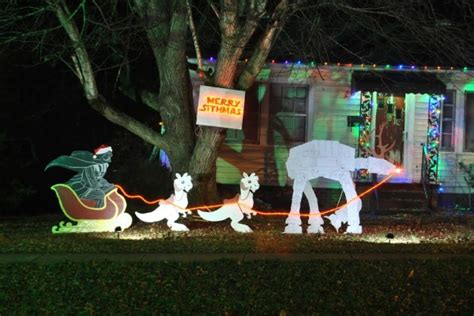 Wars Decorations Outdoor Merry Sithmas How We Made Our Own Wars