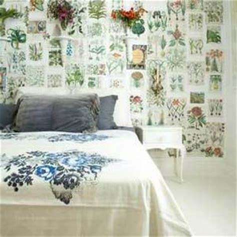 decoupage a wall diy d 233 coupaged walls popsugar home