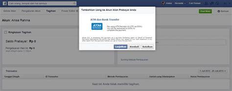 cara membuat iklan gambar cara membuat akun iklan facebook pembayaran atm bersama bejo