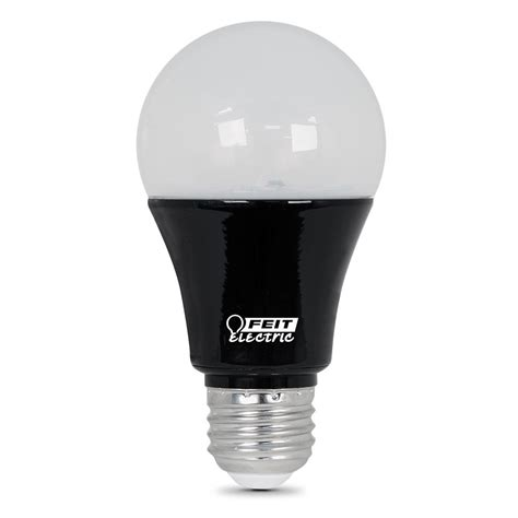 Led Black Light Bulbs Feit Electric 9w Equivalent Black Light A19 Led Light Bulb Of 12 Bpa19blb Led 12
