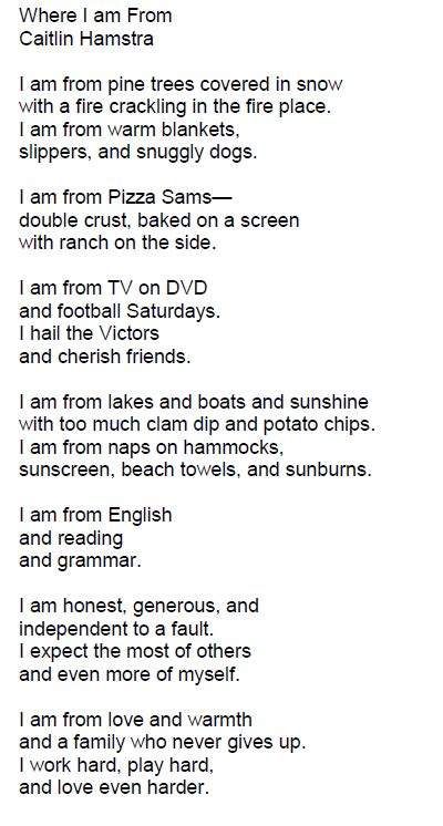 where i am from poem template best photos of where i am from poem where i am from poem