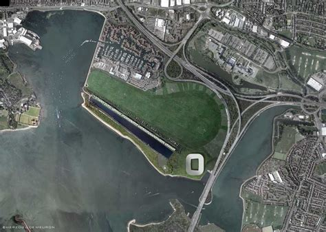 Waterfront Home Plans portsmouth stadium development pompey football club e