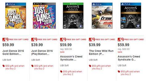Target Gift Card Selection - target buy 2 video games get a 50 target gift card