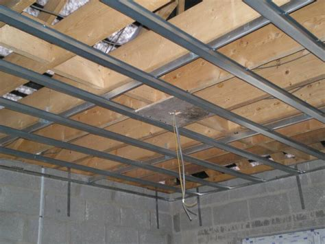 Ceiling Stud by Metal Joisting Stud Partitions Suspended Ceilings And Jointing