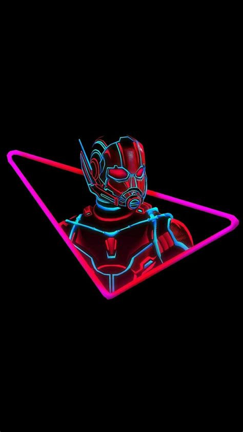 ant man neon iphone wallpaper iphone wallpapers