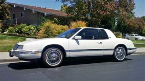 manual cars for sale 1991 buick riviera seat position control sell used 1991 buick riviera with only 70 000 original miles in mission viejo california