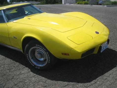 old car owners manuals 1975 chevrolet corvette engine control 1975 t top corvette one female owner stingray l 82 350 engine for sale chevrolet corvette