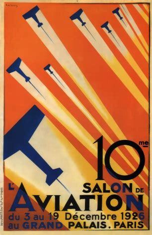 Poster Buster 30x40cm vintage travel poster salon de l aviation de valerio
