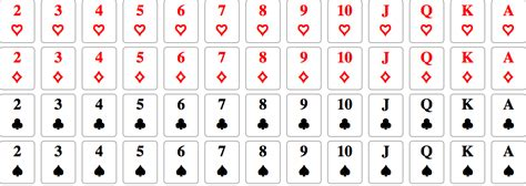 Standard Deck Of Cards by Standard Deck Of 52 Cards In Curated Data