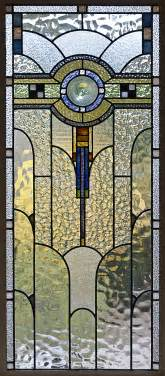 Window Treatments Montreal - file art deco stained glass in a melbourne house jpg