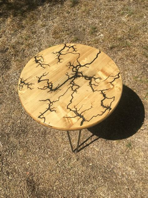 lichtenberg side table  redesignbklyn  etsy