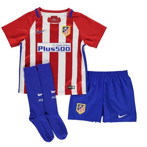 Atletico Madrid Home 1518 atletico madrid 2016 2017 home mini kit 808272 649 66 58 teamzo