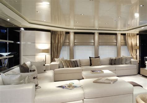 luxurious interior luxurious interior aboard talisman c megayacht yacht