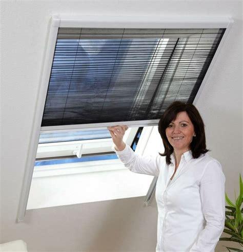 dachfenster plissee insektenschutz dachfenster plissee 110x160cm weiss real