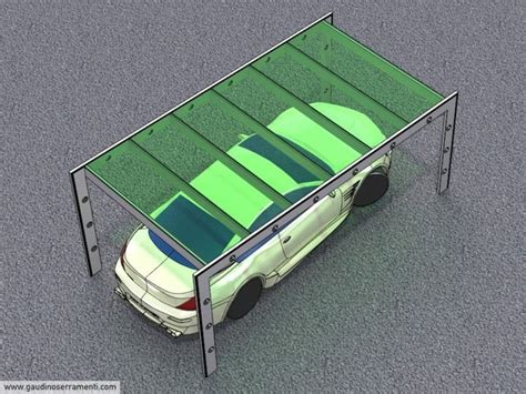 coperture leggere per tettoie pensiline per auto coperture leggere gaudino