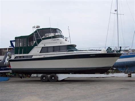 Silverton 40 Aft Cabin Review by Silverton 40 Aft Cabin 1984 Used Boat For Sale In Georgian