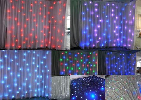 wedding backdrop lighting for sale acs led starlite curtain backrop lighting wedding