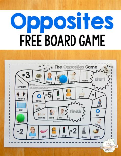 printable opposite games for kindergarten grab this fun and free opposites game for preschool just