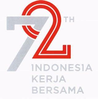 Pp Hut Ri Ke 72 kumpulan logo resmi hut ri ke 72 tema indonesia kerja bersama