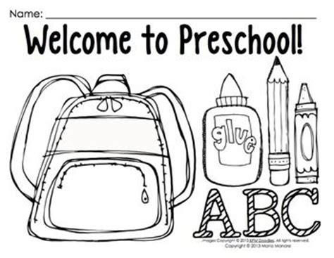 back to school coloring page kindergarten coloring pages for back to school pre k 1 classrooms