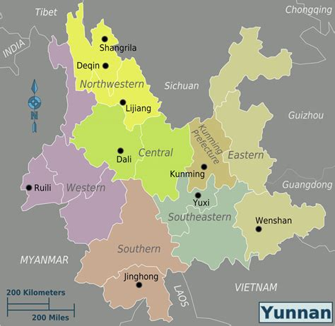 province map yunnan maps yunnan china map yunnan province map