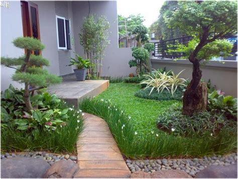 Contoh Dan Lu Taman desain taman minimalis dan teras rumah 2017 desain rumah