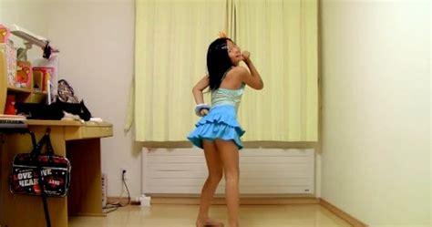 preteen no nu japanese 10 year old girls dance in miniskirt pretty