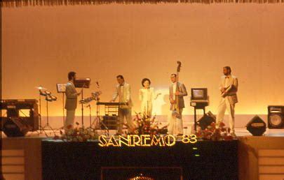 vasco sanremo 1983 sanremo 1983 viaggio nella storia festival