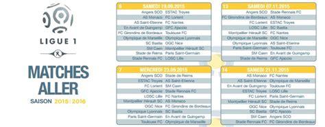 Calendrier Monaco Ligue Des Chions 2015 Ligue 1 Le Calendrier De La Saison 2015 2016