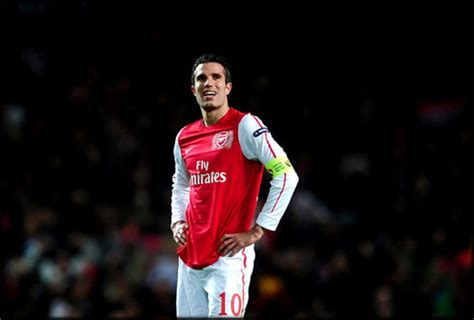 arsenal number 10 ray parlour ranks robin van persie as good as messi and