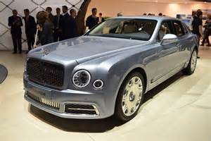 Bentley Mulsanne 2017 Bentley Mulsanne Shows Its New In Geneva