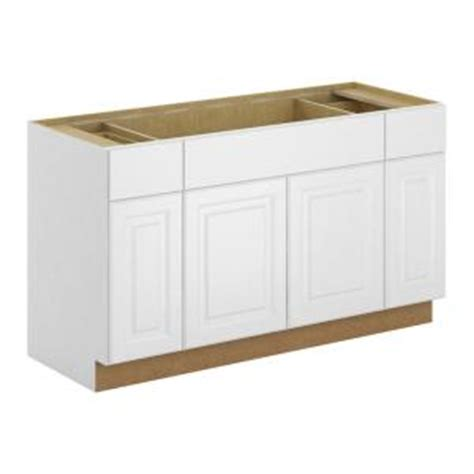 assembled 60x34 5x24 in sink base kitchen cabinet in hton bay madison assembled 60x34 5x24 in sink base