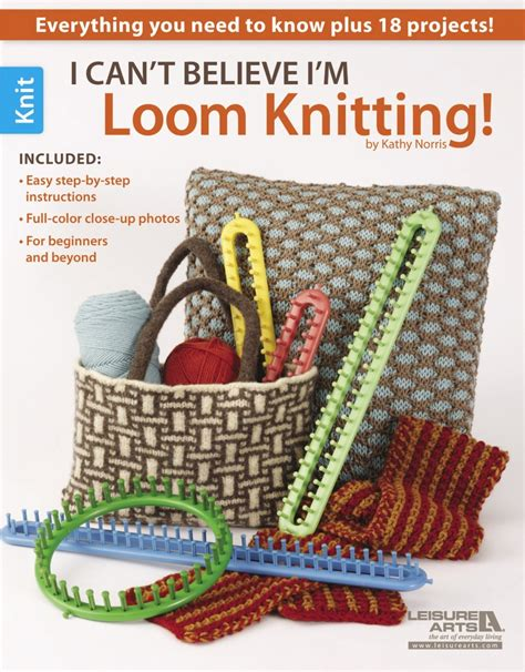 what can you knit on a loom i can t believe i m loom knitting leisurearts