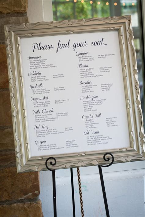 Wedding Table Seating by Wedding Seating Chart Wedding X2 Erica Adam